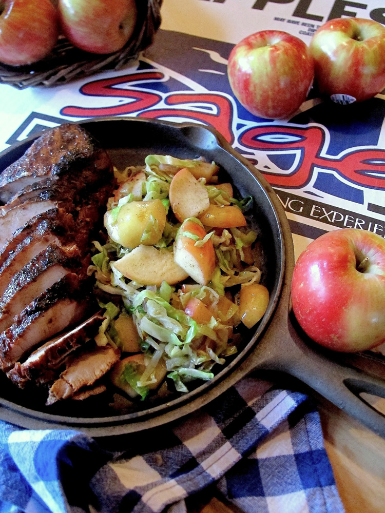 Apple Cabbage Sauté