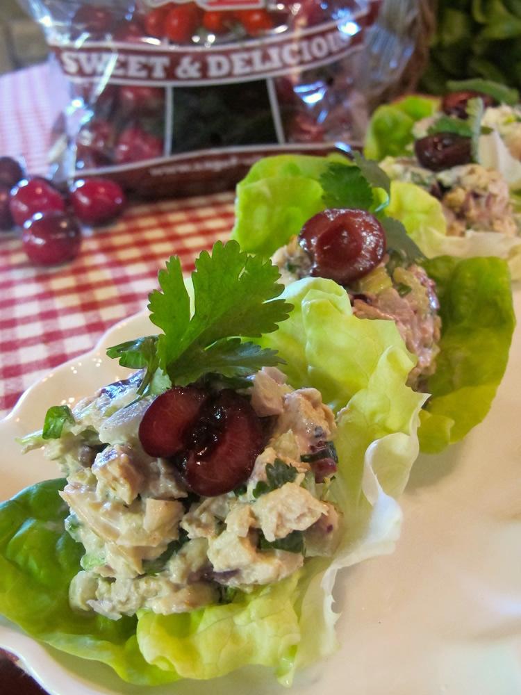 cherry-lettuce-wraps