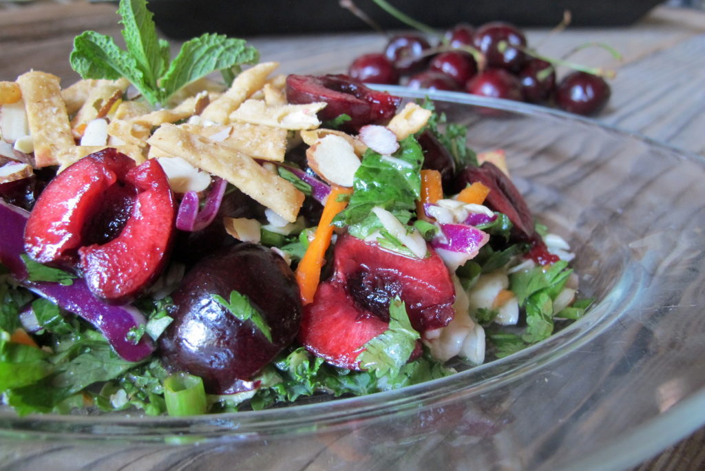 Thai Cherry Basil Salad