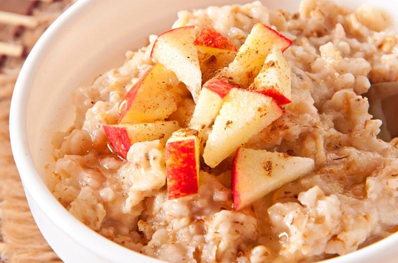 Slow-Cooker Apple Oatmeal Custard Breakfast